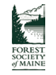 Logo for the Forest Society of Maine.